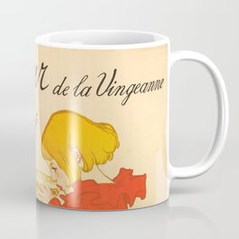 """Théophile Steinlen """"Lait Pur de la Vingeanne Stérilisé"""" Coffee Mug"""