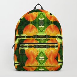 Orange and Greens Backpack