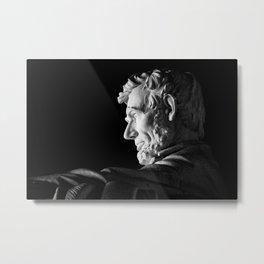 Lincoln Memorial Statue Metal Print