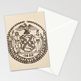 Seal of the City of New York Stationery Cards