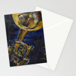 Trumpet Stationery Cards