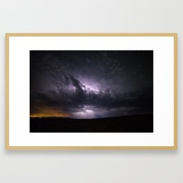 Dark Tempest Framed Art Print