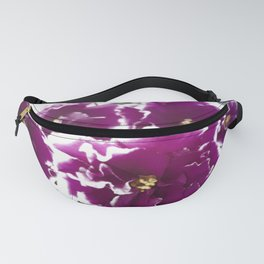 colorful violet Fanny Pack