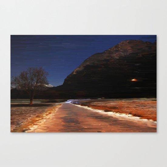 Monte via Canvas Print