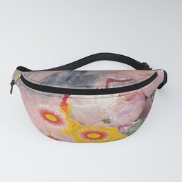 crying flowers Fanny Pack
