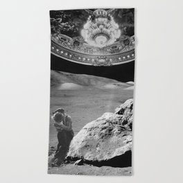Lovers on the Moon part 2 Beach Towel