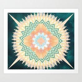 QUANTUMBLOOM Art Print
