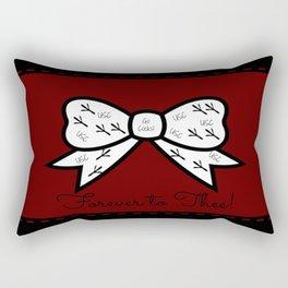 Gamecock Bow! Rectangular Pillow