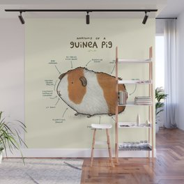 Anatomy of a Guinea Pig Wall Mural