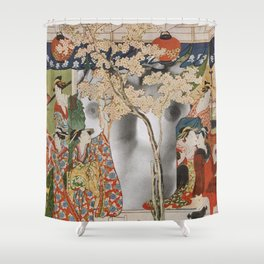 House Of Pleasure Shower Curtain