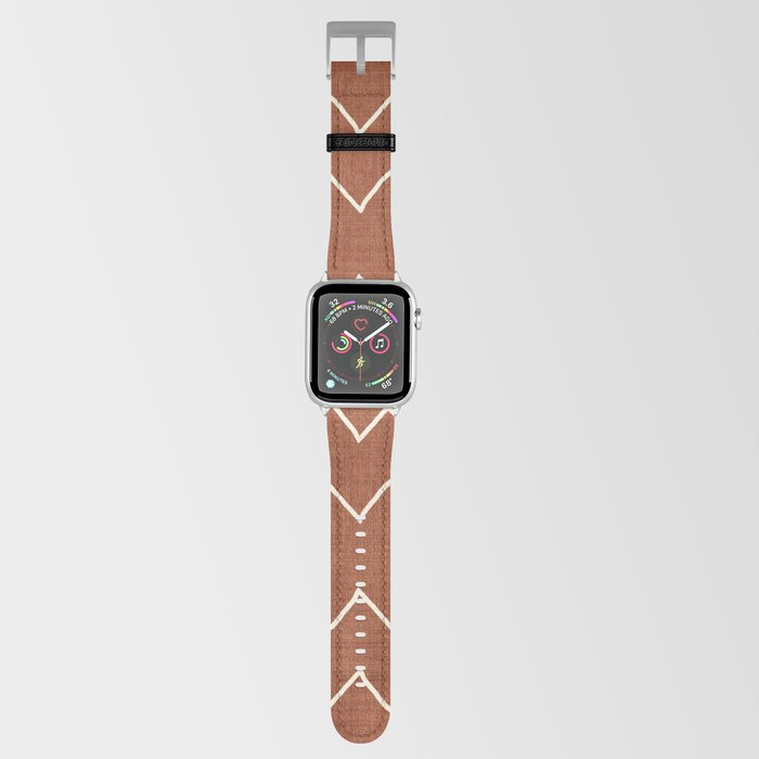 Nudo in Rust Apple Watch Band