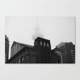 Auckland Cloud Canvas Print