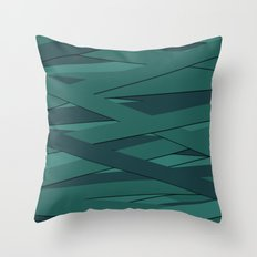 Teal in Love Throw Pillow