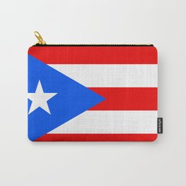 Puerto Rico Flag Carry-All Pouch