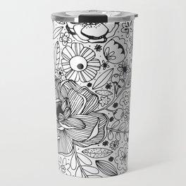 Flowers Flowers Travel Mug