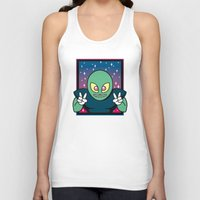 invader zim Tank Tops featuring Invader by Eliseo Diaz