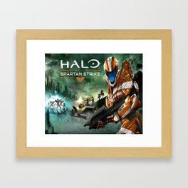 halo games Framed Art Print