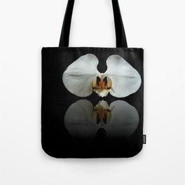 White Reflection Tote Bag
