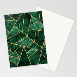 Deep Emerald Stationery Cards
