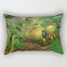 Nature's Little Bug Rectangular Pillow