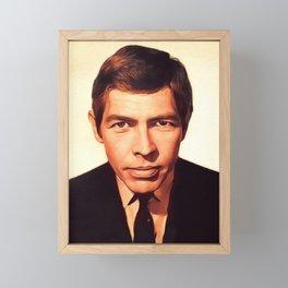 James Coburn, Actor Framed Mini Art Print