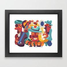 Jazz It Up Framed Art Print