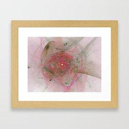 Falling Together Framed Art Print