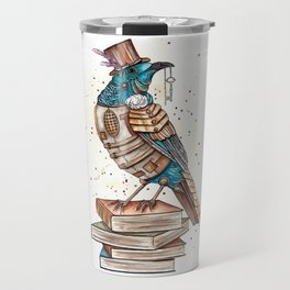 Steampunked Tui Travel Mug