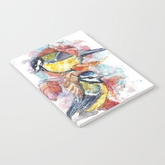 winter titmouse Notebook
