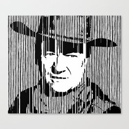 John Wayne Black & White Huge Poster Print Canvas Print