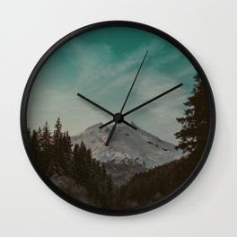 Mt. Baker Wall Clock