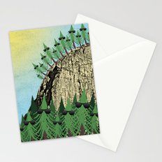 Sunning Trees Print Stationery Cards