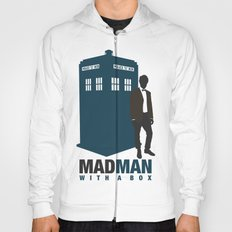 MAD MAN With A Box Hoody
