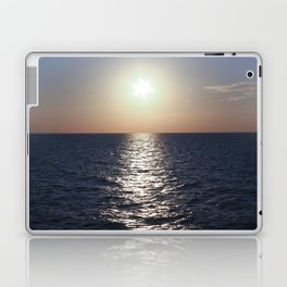 Sunset, Santorini Laptop & iPad Skin