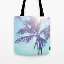 Sparkle Palms Tote Bag
