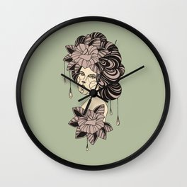 Strings Attached Wall Clock