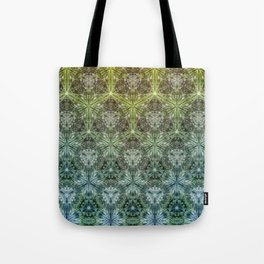 Forest Lake. sacred geometry. seamless pattern Tote Bag