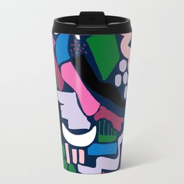 Dark colour scatter Travel Mug