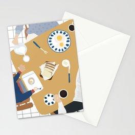 Sunday Morning Breakfast  Stationery Cards