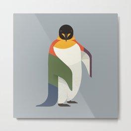 Emperor Penguin Metal Print