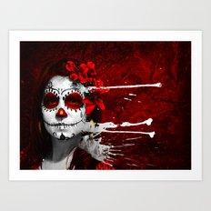 Pintura de los Muertos Art Print