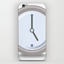 Clock Five iPhone Skin