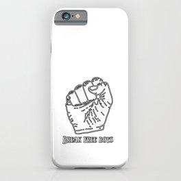 MGTOW - Break Free Boys iPhone Case
