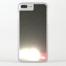 Abstracte Light Art in the Dark 5 Clear iPhone Case