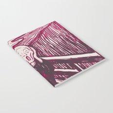 The Scream's Haze (pink) Notebook