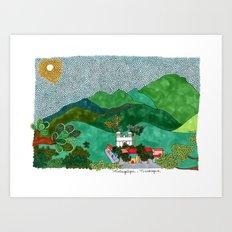Matagalpa, Nicaragua Art Print