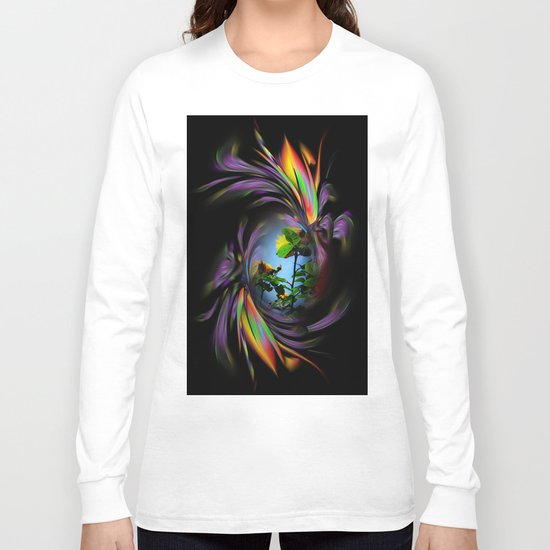 Flowers magic roses 3 Long Sleeve T-shirt