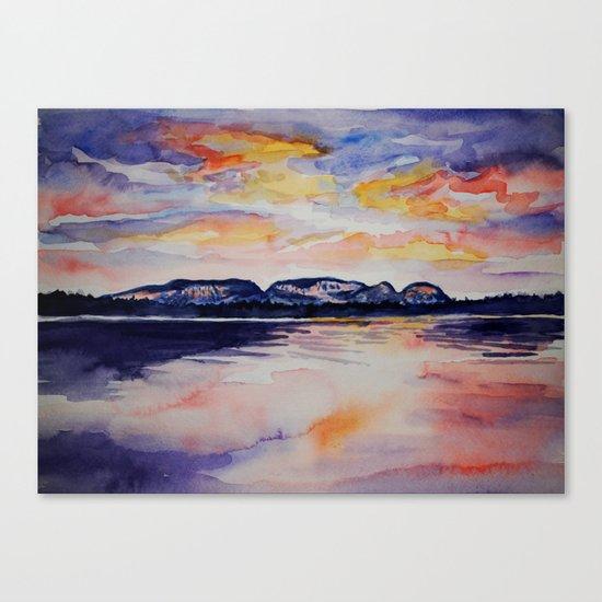 Sleeping Giant  Canvas Print