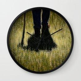 The Walk Wall Clock