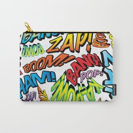 Comic Book Sounds Carry-All Pouch
